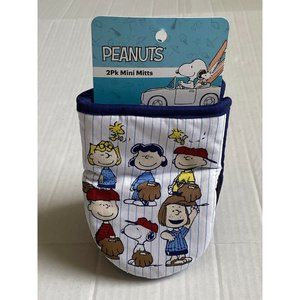 Peanuts SNOOPY 2Pack Mini Oven Mitts Pot Holder